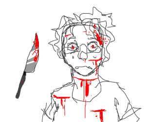 many stabs