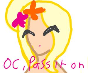 Draw an OC, PassItOn