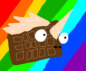 Unicorn is a chocolate bar