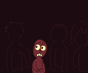 Surrounded in the Dark