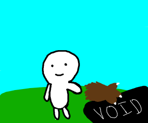 TheOdd1sOut throws bear hand into void
