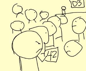 holding in queue