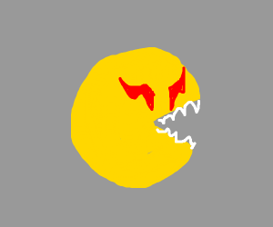 Bloodthirsty pacman