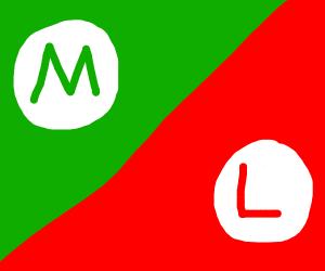 red luigi or green mario