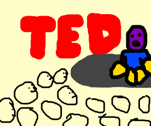 Thanos Does a Ted Talk