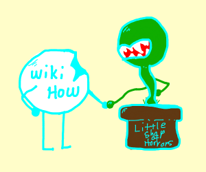 wikihow meets little shop of horrors