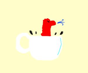 Llama in a Cup