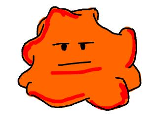 blob is not impressed