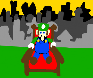 Luigi makes the mushroom kingdom communist
