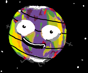 Earth's layers.