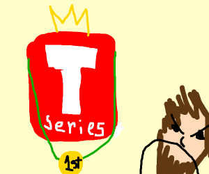 T is greater than angry PieDiePew
