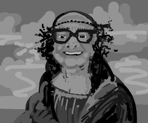 Danny Devito Mona Lisa
