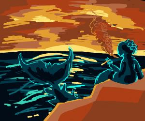 Smoking Mermaid