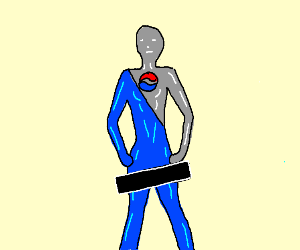 Pepsi man with censorship