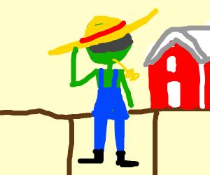green farmer