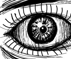 Semi Realistic Eye Drawception