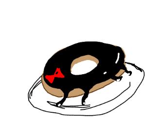 Black widow donut