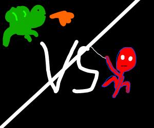 Dragon vs. Spiederman