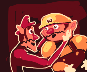Wario and walluigi have a affair