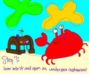 Step6: god turns you into a crab