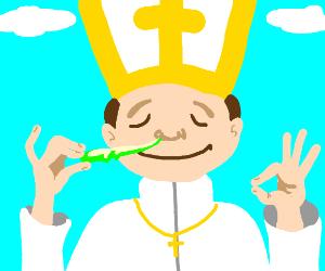 One naughty pope