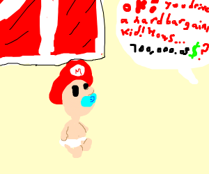 VERY young Mario sells his barn