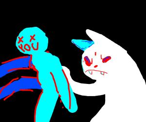 Cat wants ur corpse