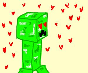 Creeper in love