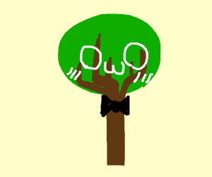 Kawaii owo dapper tree