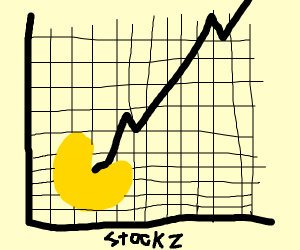 Pacman wins at stock market