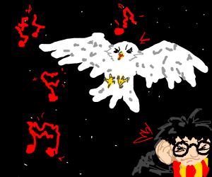 Hedwig's Theme but it's earrape