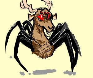 Spider deer
