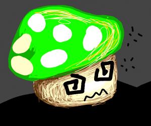 drunk mushroom from mario