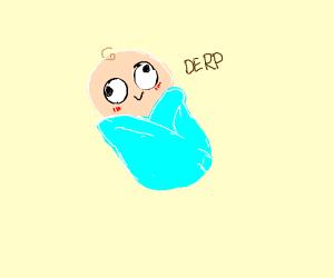 derp eyed baby