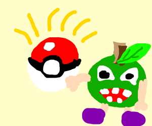 [SPOILER] that new apple pokemon