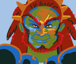 Ganondorf gets hyped about taking over Hyrule