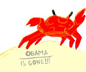 crab rave (OBAMA IS GONE)!
