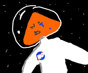 Dorito-astronaut