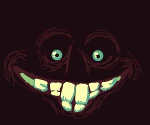 Man in the dark (possibly the Joker)