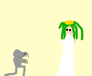 Mouse proposes to palutena