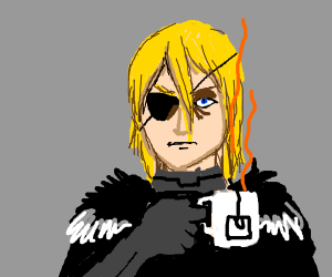 Dimitri Fire Emblem drinks tea