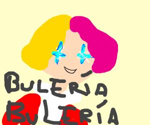 """Buleria, Buleria!"", screams anime girl"