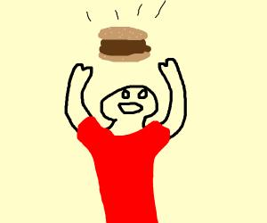 Catching a Hamburger