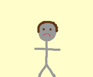 Unhappy gray men