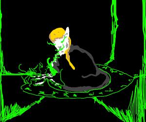 Elkwitch summoning demons