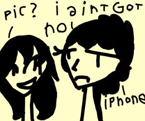 i aint got no iphone