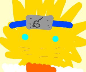 Naruto is sun for some reason