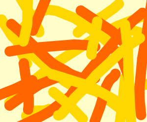 rad yellow and orange explosion