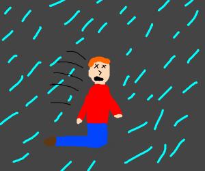 It rains when your dead