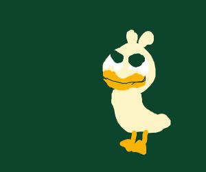 Happy duck boi